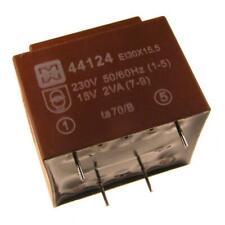 myrra MY44124 Trafo 230V Printtrafo 2VA 15V Netztrafo Transformator 107599