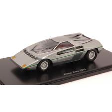 DOME ZERO 1975 SILVER 1:43 Bizarre Auto Stradali Die Cast Modellino