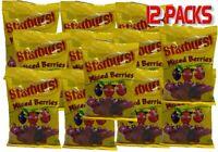 Starburst Mixed Berries 170g x 12 Candy Buffet Party Favors Halloween Bulk