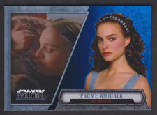 Topps Star Wars - Evolution 2016  - # 17 Padme Amidala - Blue Parallel