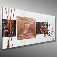 MALEREI Acryl ORIGINAL Kunst Abstrakte GEMÄLDE C. GOETHE 80x40 XL Bild modern 3D