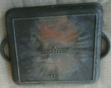 """Camp Chef 13"""" Square Dutch Oven just the lid one cast iron Lid"""