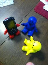 """4""""Stress Smiley Guy Phone Holder Red Blue or Yellow"""