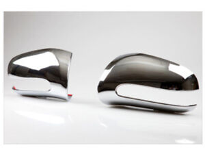 Chrome Door Mirror Covers For Mercedes Benz S-Class W220