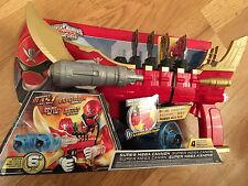 POWER Rangers Super Megaforce SUPER MEGA CANNONE Con Chiave & 4x Power Disc