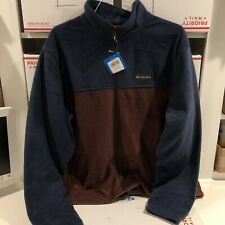 COLUMBIA Men's Granite Mountain Full Zip Fleece Jacket Size XL