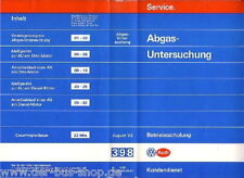 VW Bus T3 / T4 - Reparaturleitfaden Video - AU Abgasuntersuchung