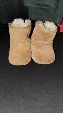 Ugg Australia  Suede  Sheepskin Toddler Boots Size US 2/3
