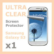 1 x Ultra Clear LCD Screen Protector Film Skin for Samsung Galaxy S3 SIII i9300
