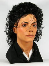 Life Size Head, Michael Jackson, Bad Era, Realistic Bust, Human Real Size 1:1