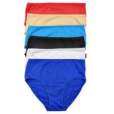 0707c755d7 10 PCS Plus Size Womens Briefs Cotton Panties Solid Lady Lingeries 2XL-4XL  H955