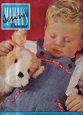 jeunes mamans magazine N°10 medecine et sante beaute mode modele tricot