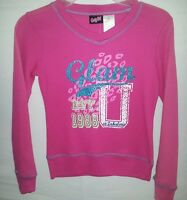 CANDY GIRL: Size 'S(6/6X) & L(10-12) Girls Pink Premium Shirt- Quality Special