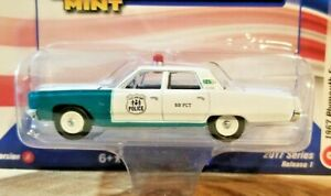 Racing Champions Mint 1967 Plymouth Fury NYC Police 1:64 Diecast Car VerA R1 #2