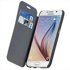 Black/Grey Stand Folio Cover Flip Case For Samsung Galaxy S6 G920F by Case-Mate