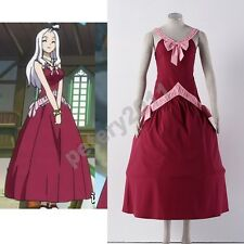 Custom-made FAIRY TAIL Mirajane Strauss Halloween Cosplay Costume Dress