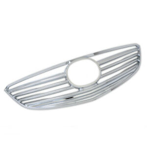 For Mazda 6 M6 2013-2015 Chrome Front Center Grille Grill Racing Cover Trim