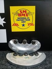 New OEM S&M 36-39 Bash Guard Silver