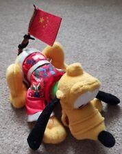 Disney Disneyland Resort Pluto Chinese Flag Year of the Dragon Plush Aus Seller