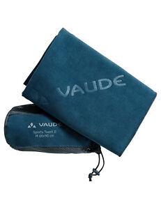 Vaude Handtuch Sports Towel L / blau, Outdoor, Reisen, Wandern  60 x 120 cm