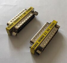 2 X DB25 Gender Port Changers Male To Male Adaptor Converter