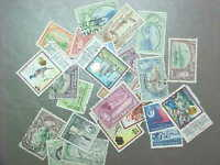 25 DIFFERENT TRINIDAD & TOBAGO STAMP COLLECTION - LOT