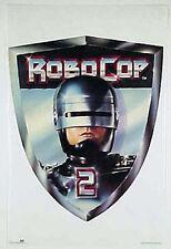 "Vintage RoboCop II Badge Logo Movie Poster- 23""x34""  UNUSED ROLLED!"