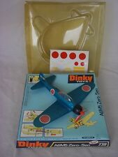 Boxed Dinky Toys No. 739 - A6M5 Zero-Sen Fighter Aircraft
