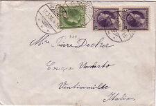 LUXEMBOURG - STEINFORT - LE 17-3-1936 - BEL AFFRANCHISSEMENT POUR VINTIMILLE ITA