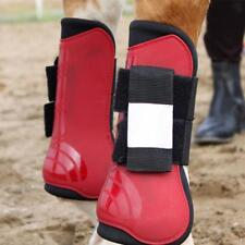 Horse Equine Jumping / Tendon Protection Front LEG GUARDS SPLINT BOOTS Gear