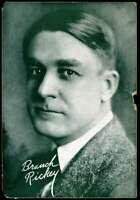 Branch Rickey JSA Coa Autograph Vintage 7x10 Photo Hand Signed