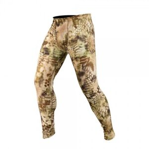 Kryptek Cammo Hoplite Hunting Outdoors Baselayer Wool Bottoms Mens NWT MSRP $120