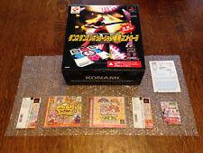 DDR Controller + X2 mini jeux jeux PLAYSTATION JAPAN Très bon état Complet (Royaume-Uni vendeur)
