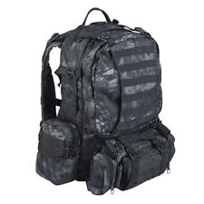 Assembly Defense MOLLE Tactical Hiking EDC Military Rucksack 36L Kryptek Typhon
