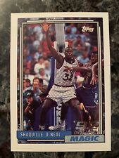 Shaquille O'Neal 1992-93 Topps Rookie Card Basketball # 362 RC