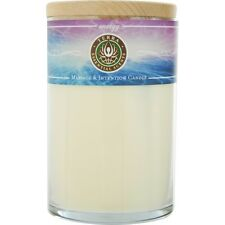 Energy Massage & Intention Soy Candle 12 oz Tumbler. A Blend Of Peppermint, Euca