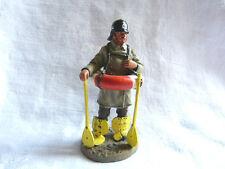 Figurine pompier Delprado - Fireman with lifebelt Berlin Germany 1900
