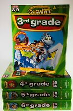 Educational Learning Computer Cd-Rom (Lot) Gr. 3 thru Gr. 6 (Galswin) Ages 8-12
