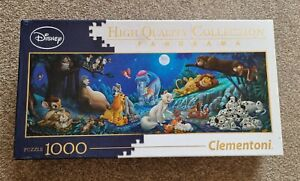 "Clementoni Disney Panorama ""Sweet Nights"" 1000 pc Jigsaw"