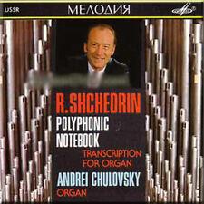 SHCHEDRIN - TWENTY-FIVE POLYPHONIC PRELUDES - CHULOVSKY