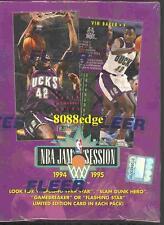 1994-95 FLEER JAM SESSION NBA BOX: INSERT IN EVERY PACK-JASON KIDD/GRANT HILL RC