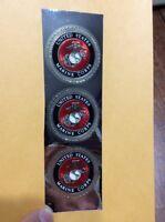 """USMC Seal 1.75"""" United States Marine Corps Sticker emblem Eagle Globe anchor EGA"""