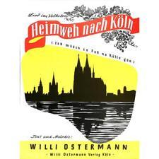 Ostermann, Willi - Heimweh nach Köln - Noten für Gesang und Klavier