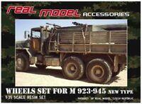1/35th Real Model US M923-945 series wheels