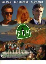 PCH / KILL SHOT- ORIGINAL UK- 1 PAGE PRESS SHEET- JACK SCALIA - ELLIOTT GOULD