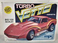 1979 MPC Turbo Vette Corvette 1:20 Model Kit # 1-0755 ~ Open Box