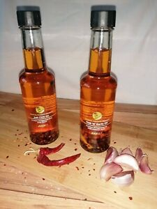 Infused Rapeseed Oils - Chilli/Chill 'N' Garlic - Tropical Paradise Presents