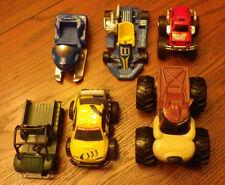 """Lot Misc. 6 Monster Truck Taz Atv Racing Go Cart Plastic Snowmobile 4"""""""