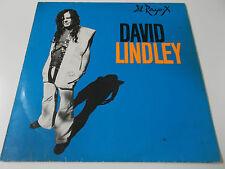 38293 - DAVID LINDLEY - EL RAYO-X - 1981 VINYL LP MADE IN GERMANY (OIS)