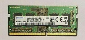 4GB Samsung DDR4 3200MHz SODIMM PC4-25600S 1Rx16 1.2V laptop RAM memory module